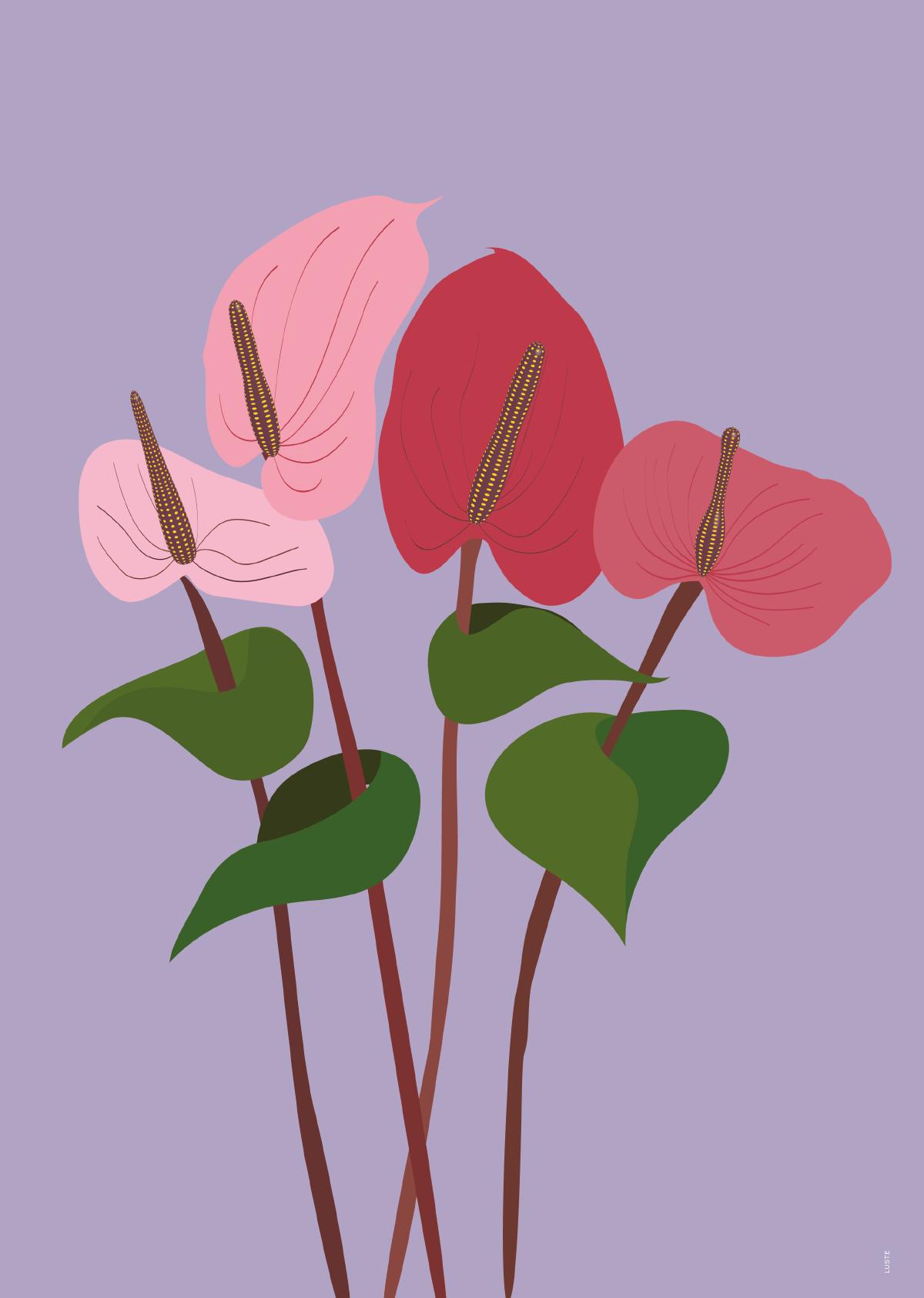 "Plakat ""Flamingo"""